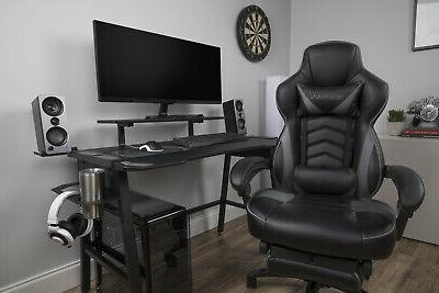 RESPAWN 110 Racing Gaming Chair, Reclining Leather Chair