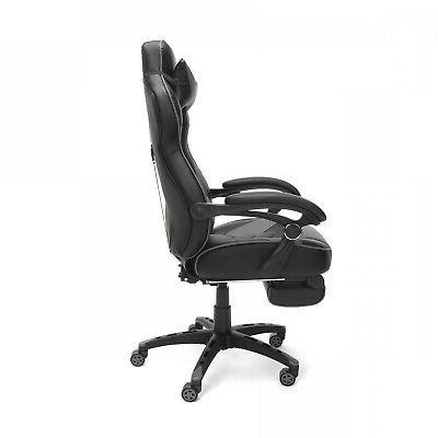 RESPAWN Racing Gaming Chair, Reclining Ergonomic Leather Chair