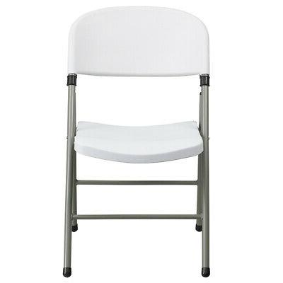 2 Plastic Event Party Folding Chair