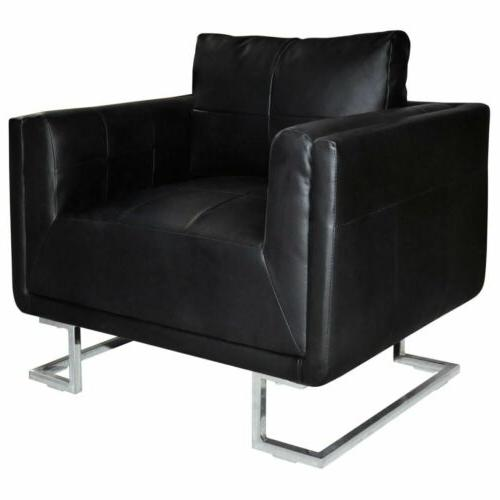 3 Chair Upholstered Arm Chair