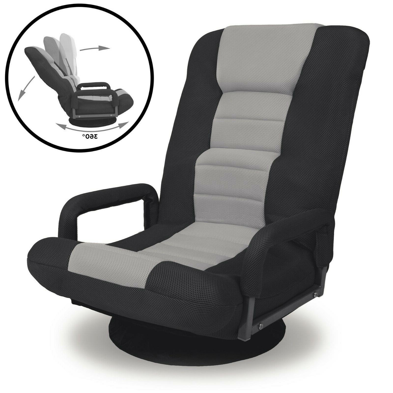 360 degree swivel gaming floor chair w