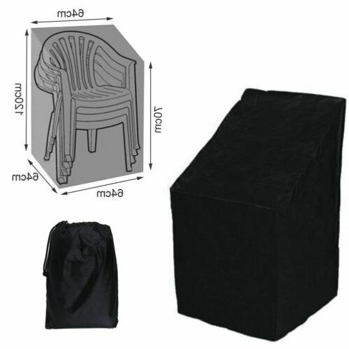 Waterproof Outdoor High Back Patio Single Chair Cover Protec