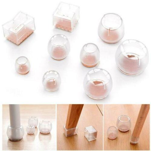 4Pcs Useful Floor Protector Rubber Home Furniture Table Chai