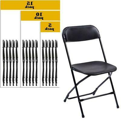 Commercial Wedding Quality Stackable Plastic Folding Chairs