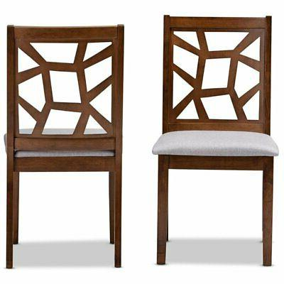 Baxton Studio Side Chair and Grey