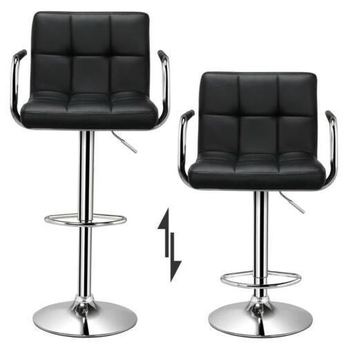 Adjustable Modern Stools Dining Chair Height 2