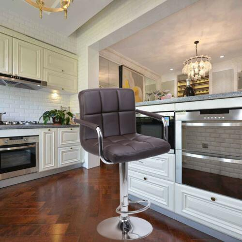 Adjustable Modern Swivel Stools Chair Height 2