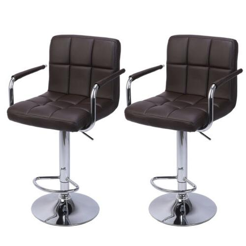 adjustable modern swivel bar stools dining chair