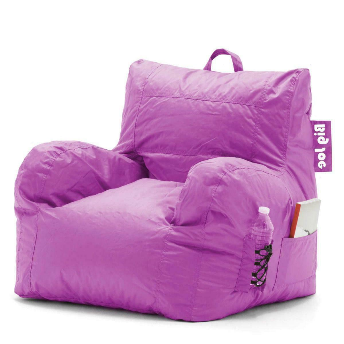 Big Joe Bag Chair Comfort Waterproof Sofa Kids Adults