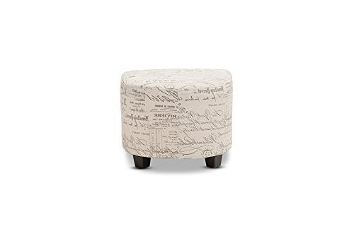 Baxton Script Chair