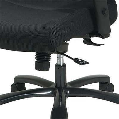 Office Star Big and Tall Grid Back Chair with Mesh