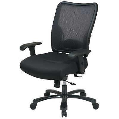 Office Star Big Tall Air Back Chair Mesh Seat