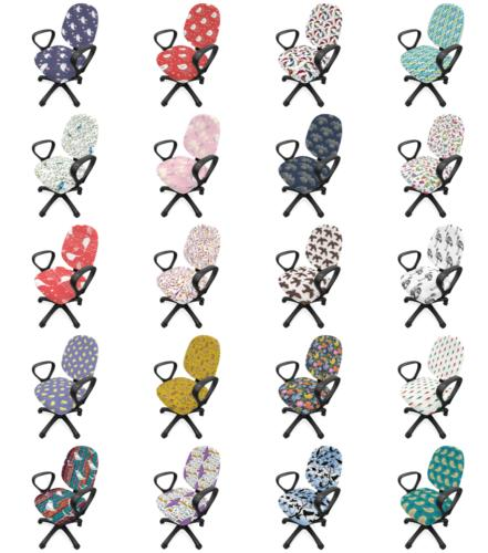 birds office chair slipcover protective stretch cover