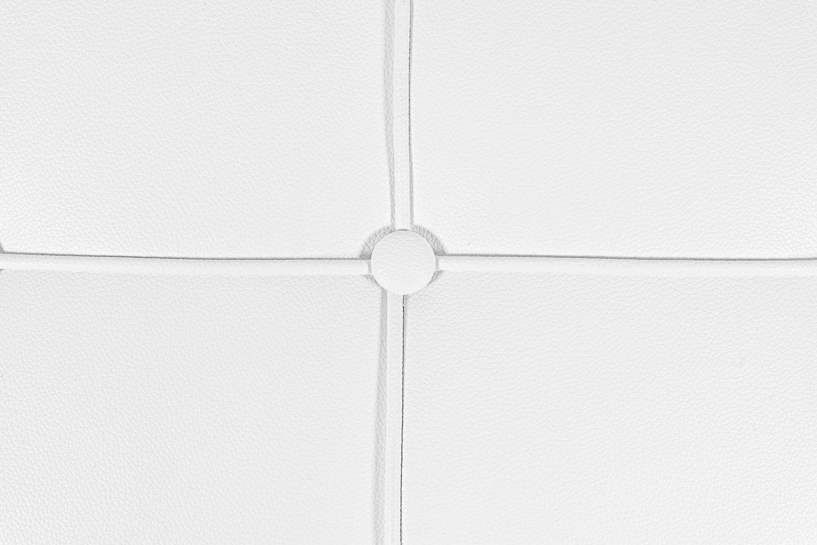 Black White Leathersoft Barcelona Style Cushion Set