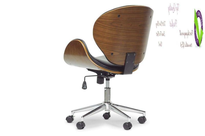 Baxton Office Walnut/Black