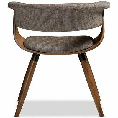 Baxton Studio Upholstered Dining Side Gray