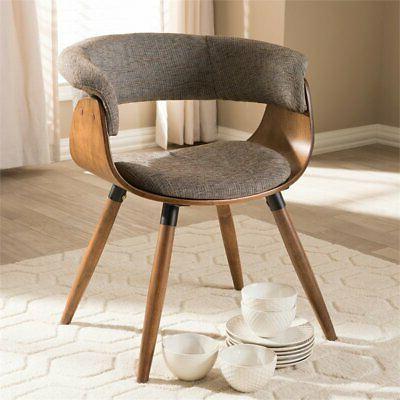 Baxton Studio Bryce Dining Chair in Gray