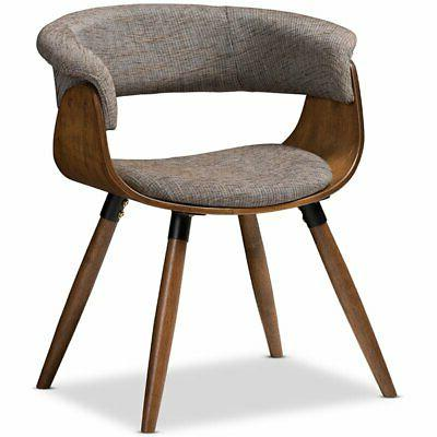 bryce upholstered dining side chair in gray