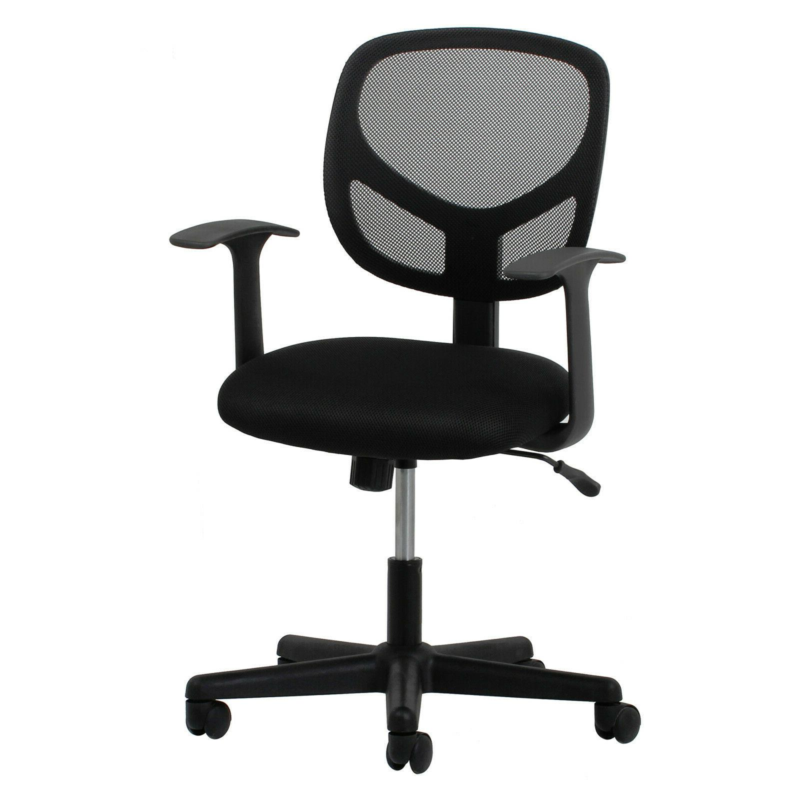 Essentials Swivel Back Chair Arms Office
