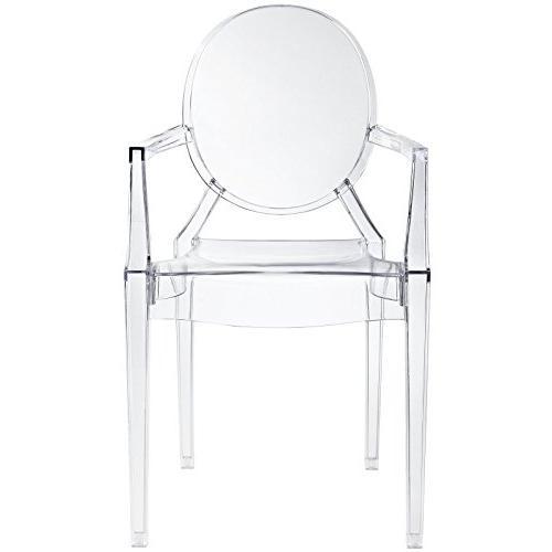 Casper Dining Armchair Clear