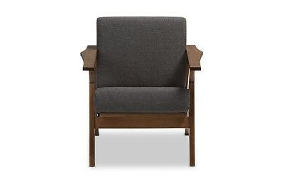 Baxton Cayla Chair Mid-Century