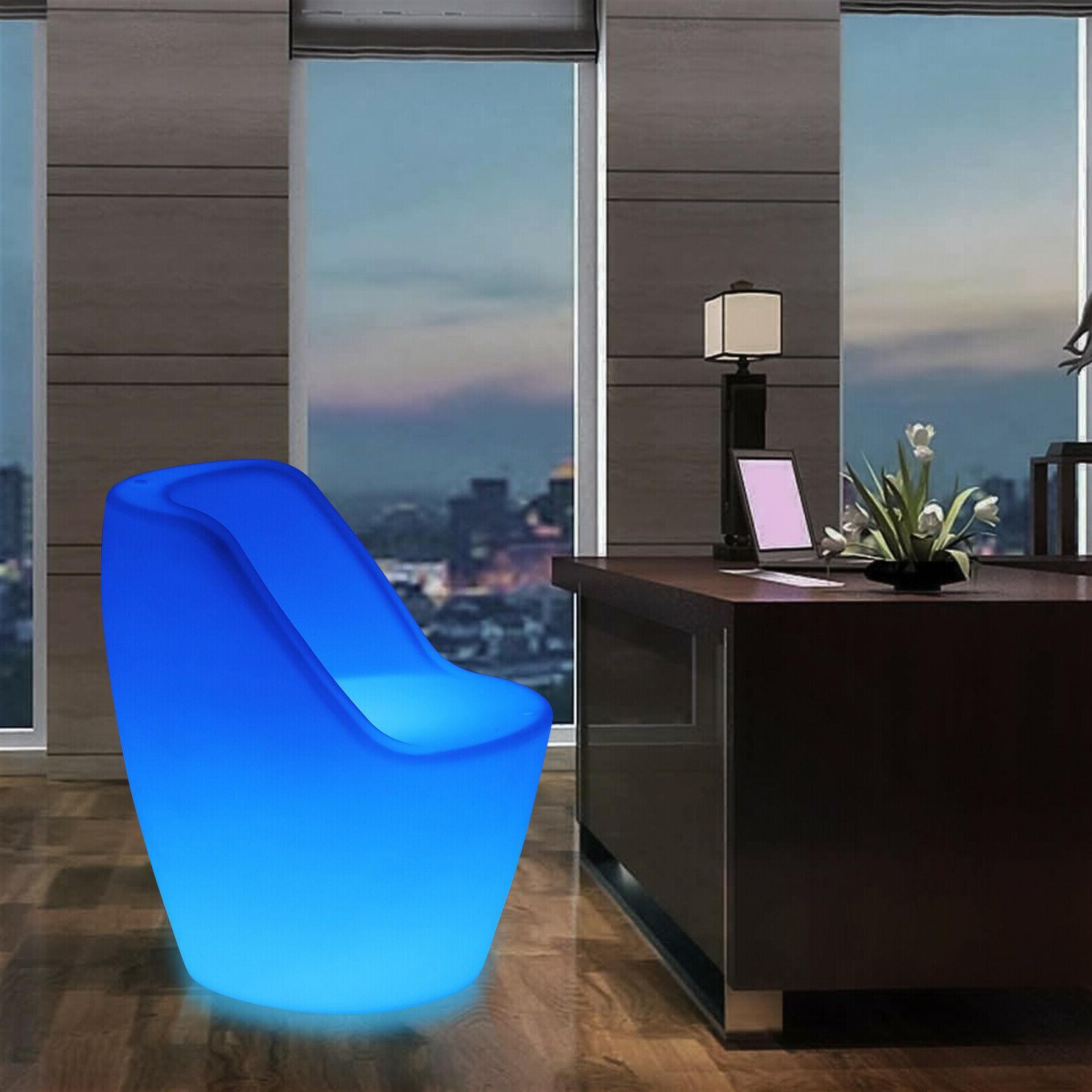 changing led light up furniture chairs pub