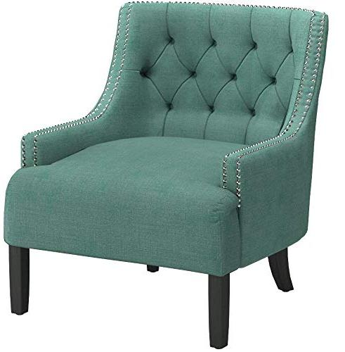 Homelegance Accent/Arm Teal Fabric