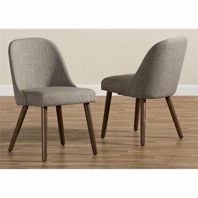 Baxton Cody Dining Chair Gray