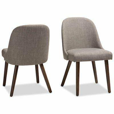 cody upholstered dining side chair in gray