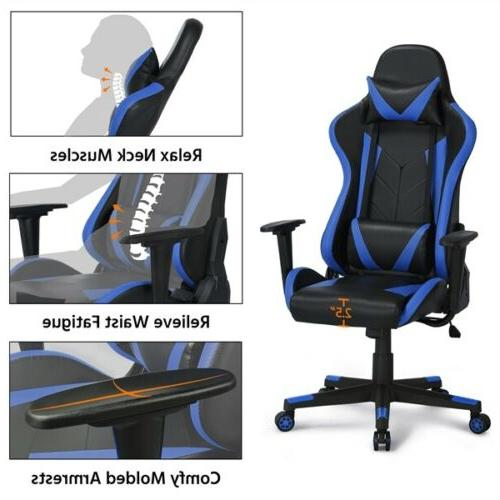 Computer Gaming Chair Executive Swivel Racing Chair