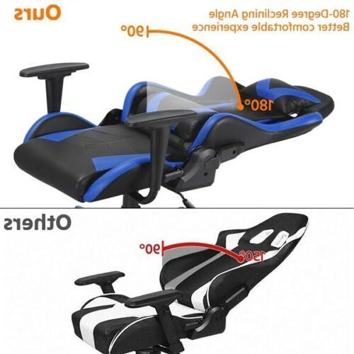 Computer Gaming Chair Chair Executive Swivel Chair Black/Blue