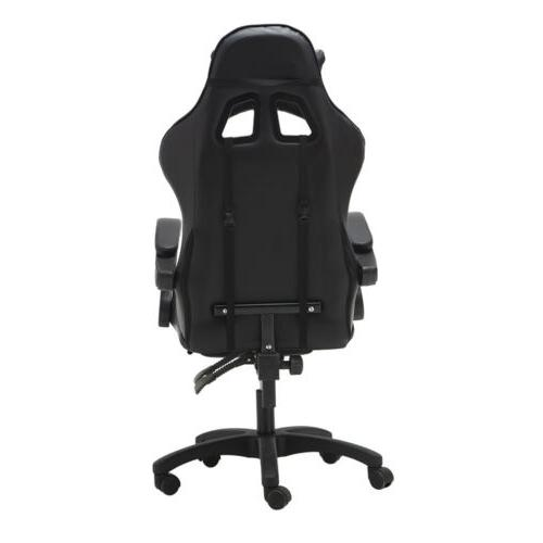 Computer Racing Leather High-back Office Desk