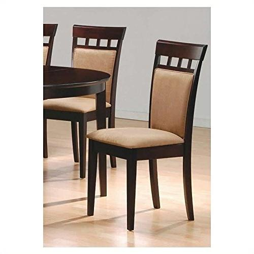 Set Mocha Color Back, Dining Chairs