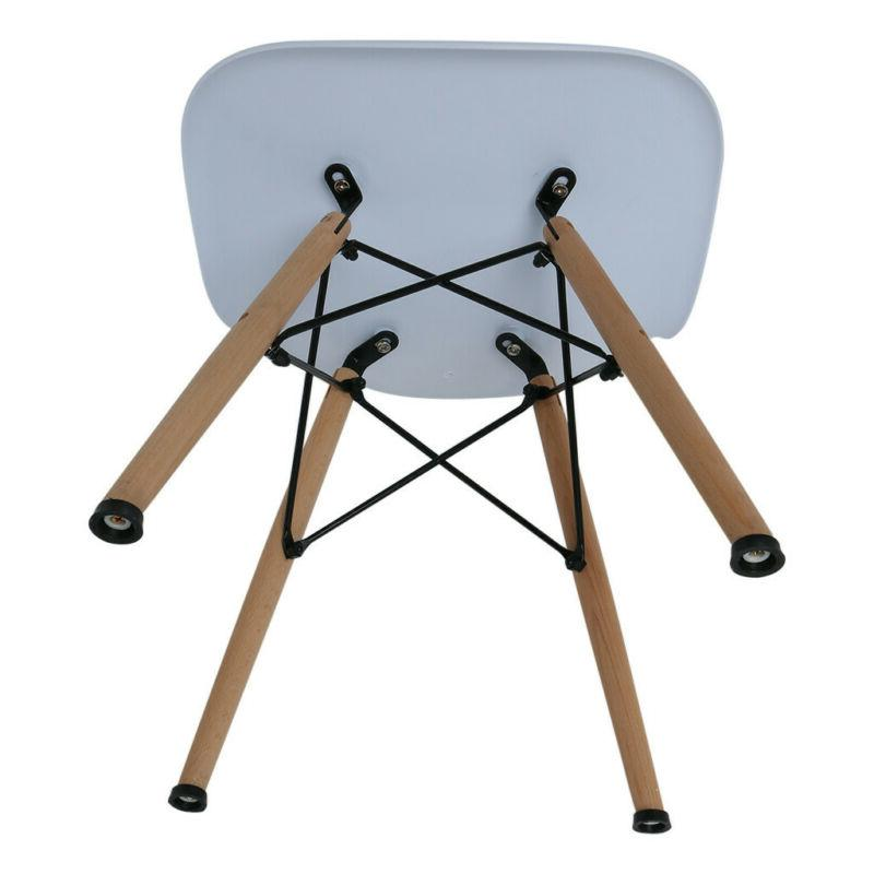 Set 4 Century Modern Side Chair in White