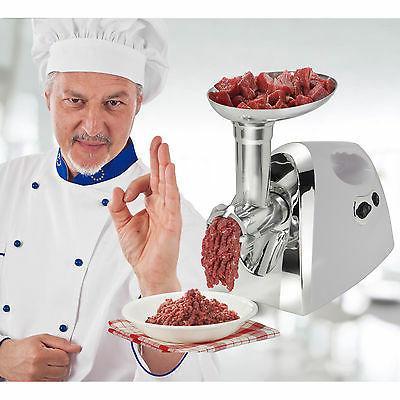 1200W Food Grinder Mincer Sausage Stainless 3