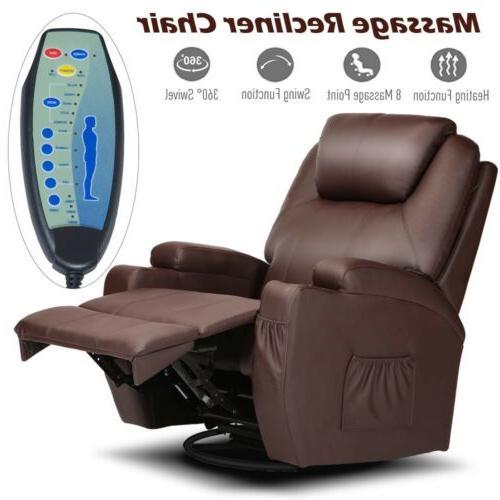 Electric Sofa Lounge Heated Vibration