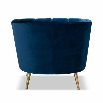 Baxton Blue Chair