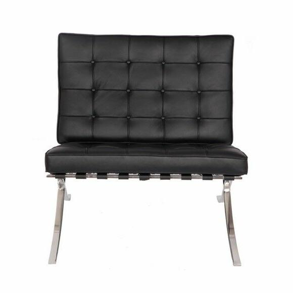 Modern Replica Leather Black