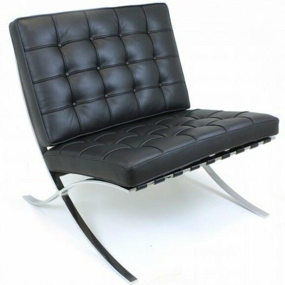 emod barcelona chair reproduction modern pavilion replica