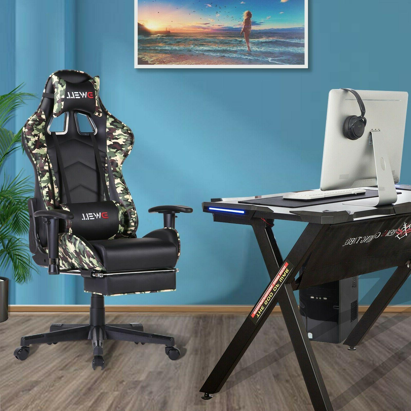 Ergonomic Computer with Lumbar Support Chair