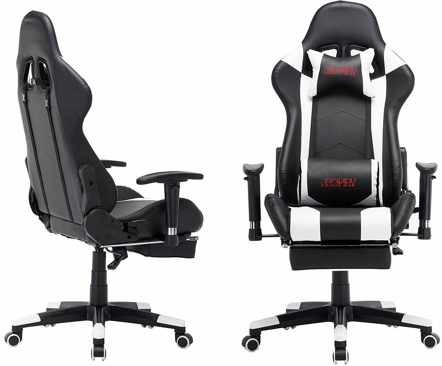 Ergonomic Computer Gaming Chair with Support