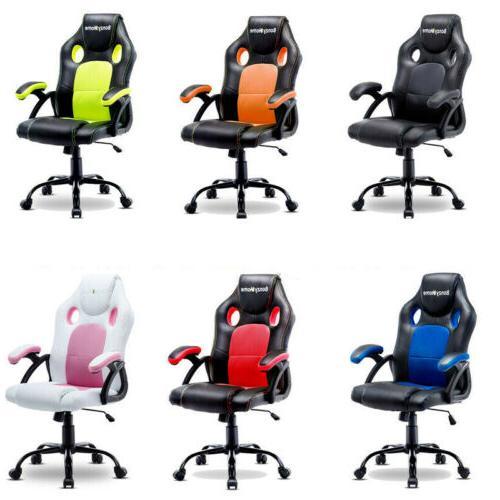 ergonomic gaming racing chair computer desk swivel