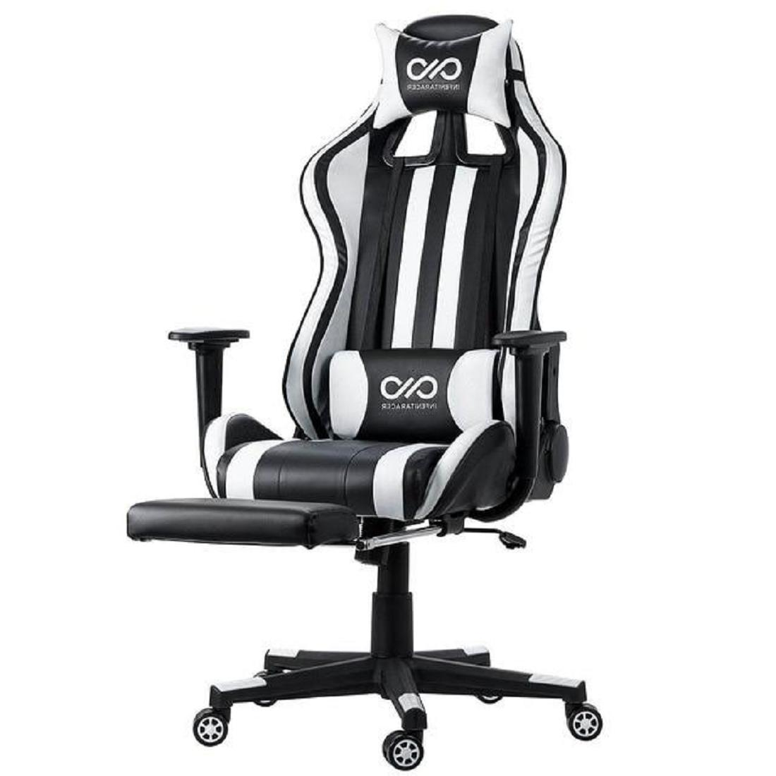 Lumbar High Leather with Armrest and Footrest