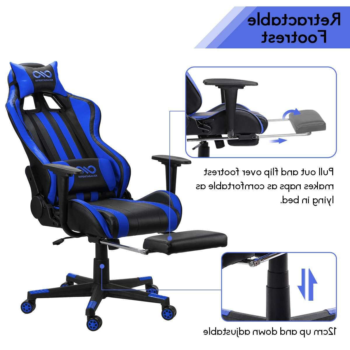 Lumbar Leather Gaming with