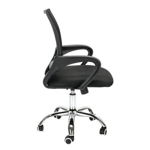 Ergonomic Office Desk Task Swivel Black