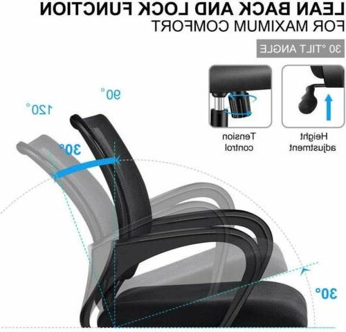 Ergonomic Swivel Mid-back Chair Base