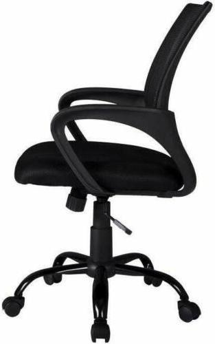 Mid-back Computer Chair Black