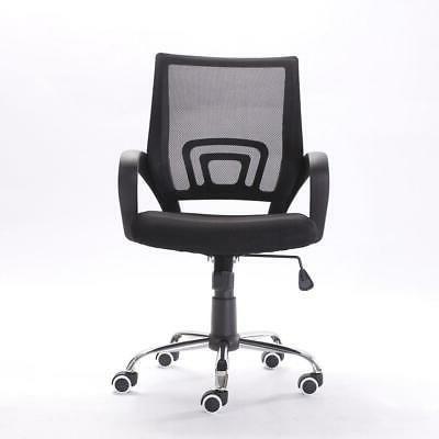 Ergonomic MidBack Mesh Chair Computer Desk