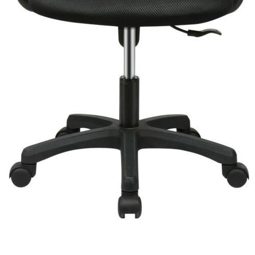 Black Executive Ergonomic Mesh Computer Desk Midback