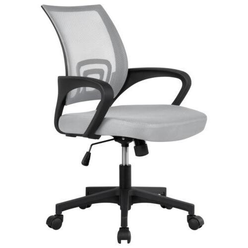 black executive ergonomic mesh computer office desk